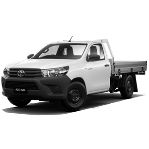 2018 Hilux Workmate 4x2 manual petrol cab chassis