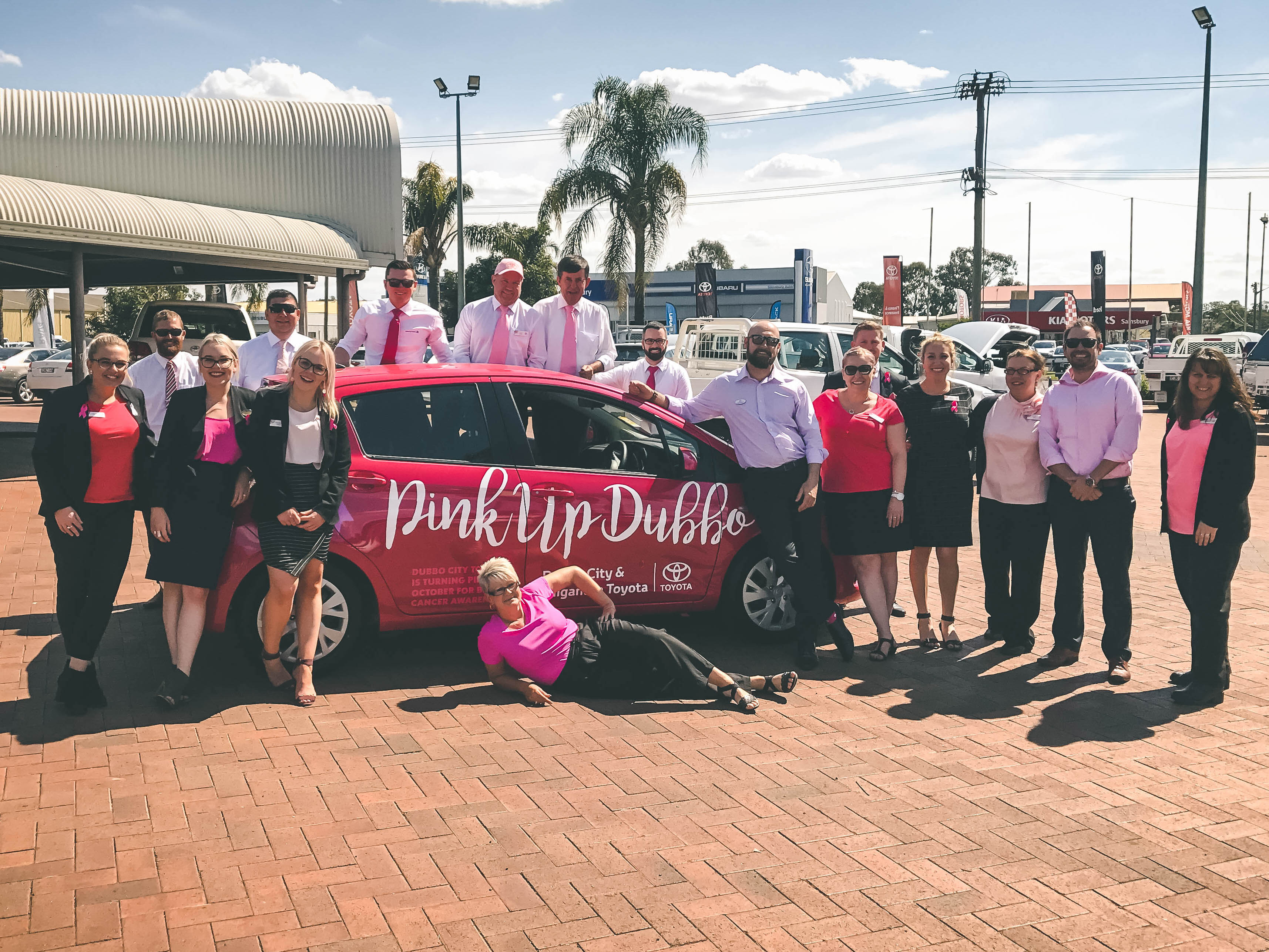 Pink up Dubbo at Dubbo City Toyota