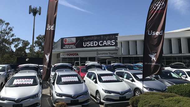 Local Car Dealers >> Sunshine Toyota On The Sunshine Coast Sunshine Coast